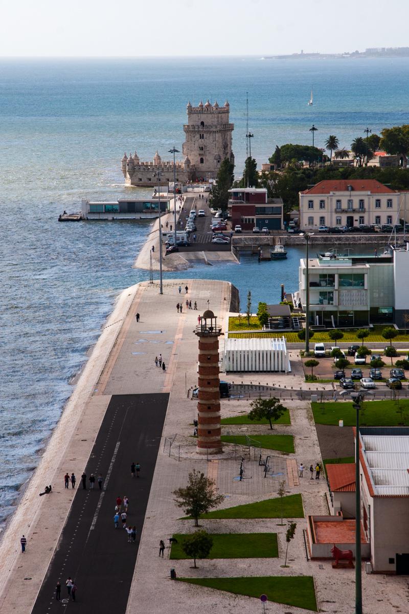 View Toward the Belém Tower