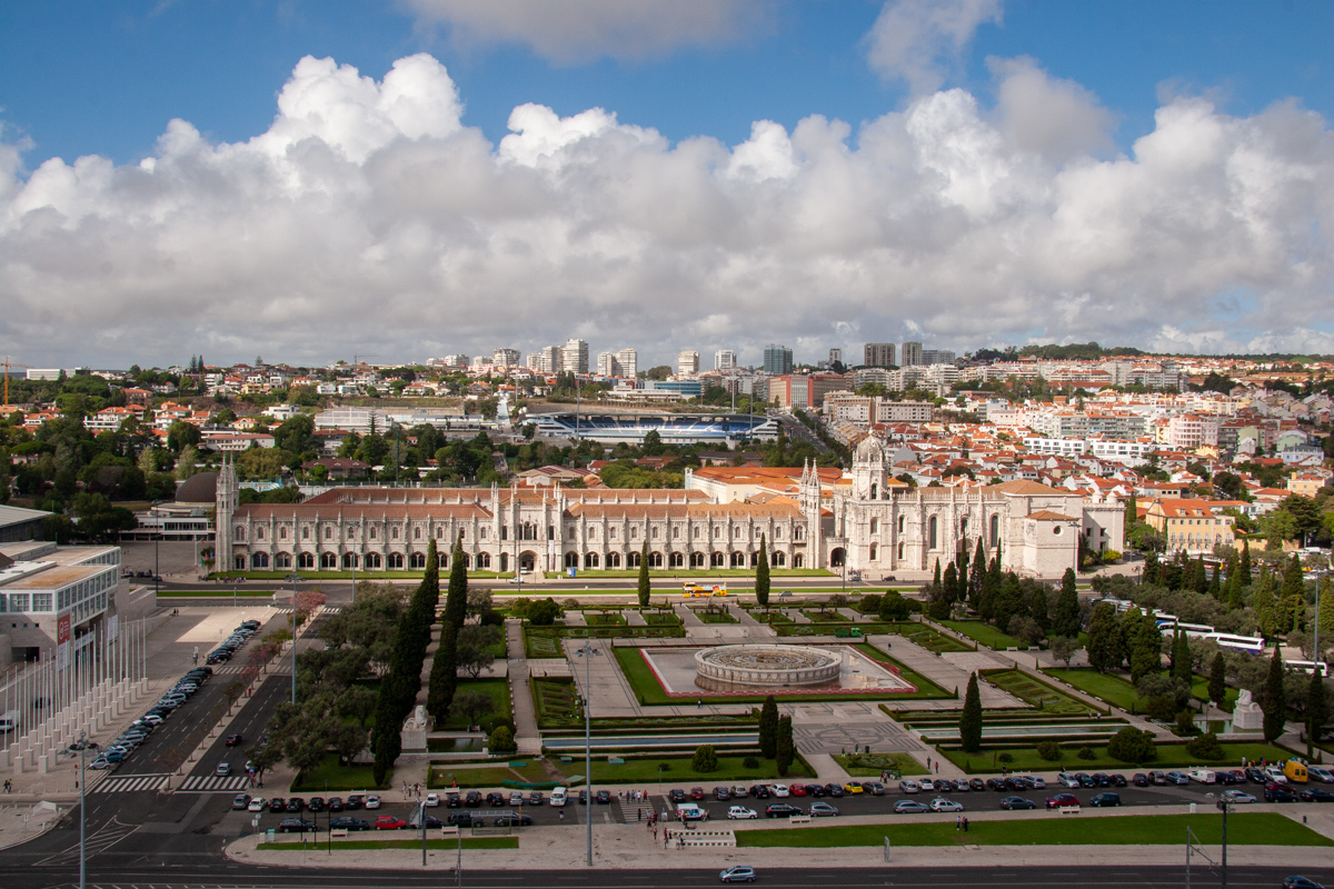 View Toward the Praça do Império and the Mosteiro dos Jerónimos