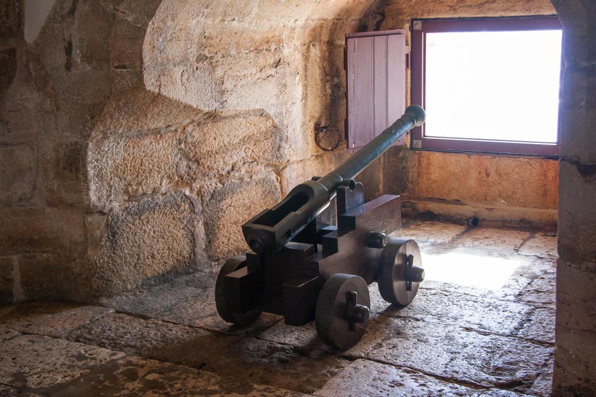 Cannon Inside the Belém Tower