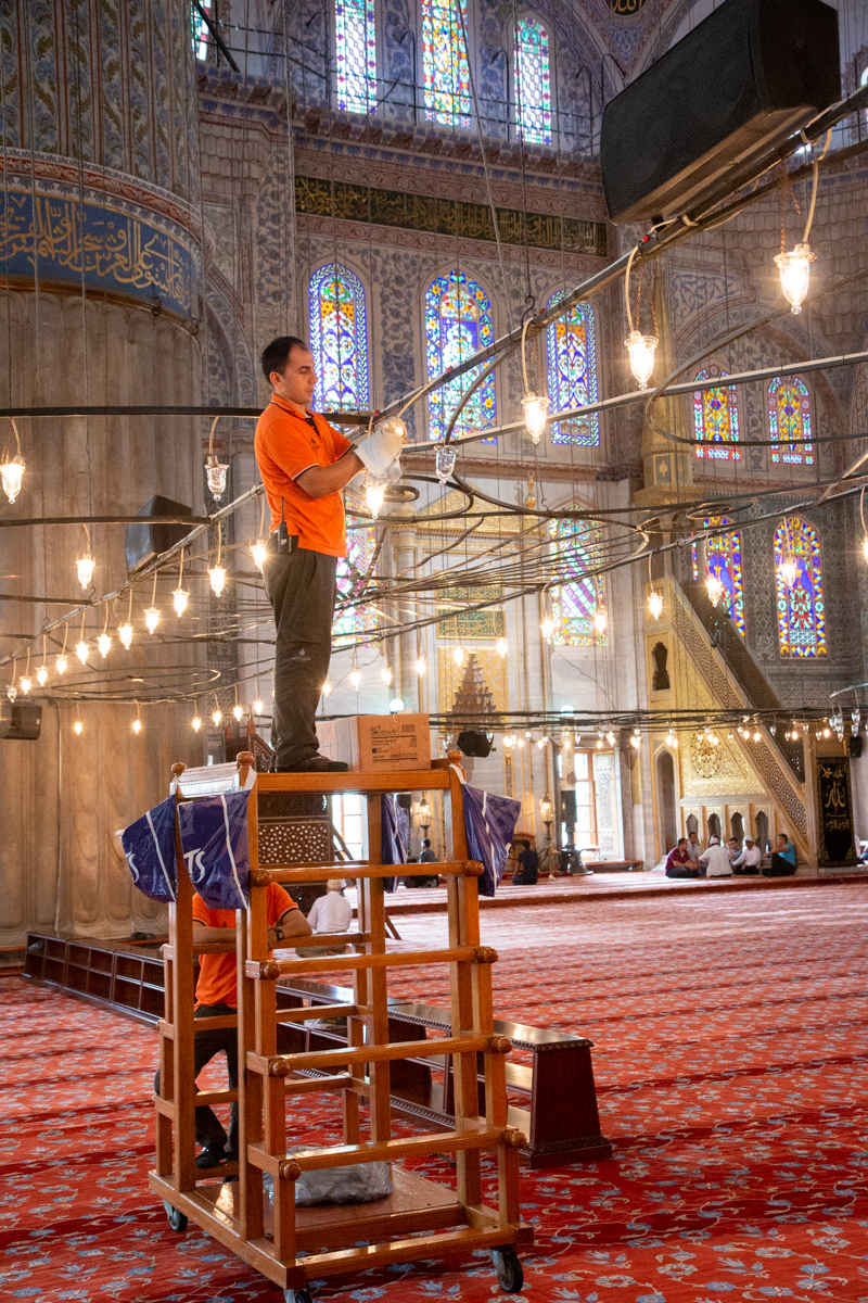Chandelier Maintenance