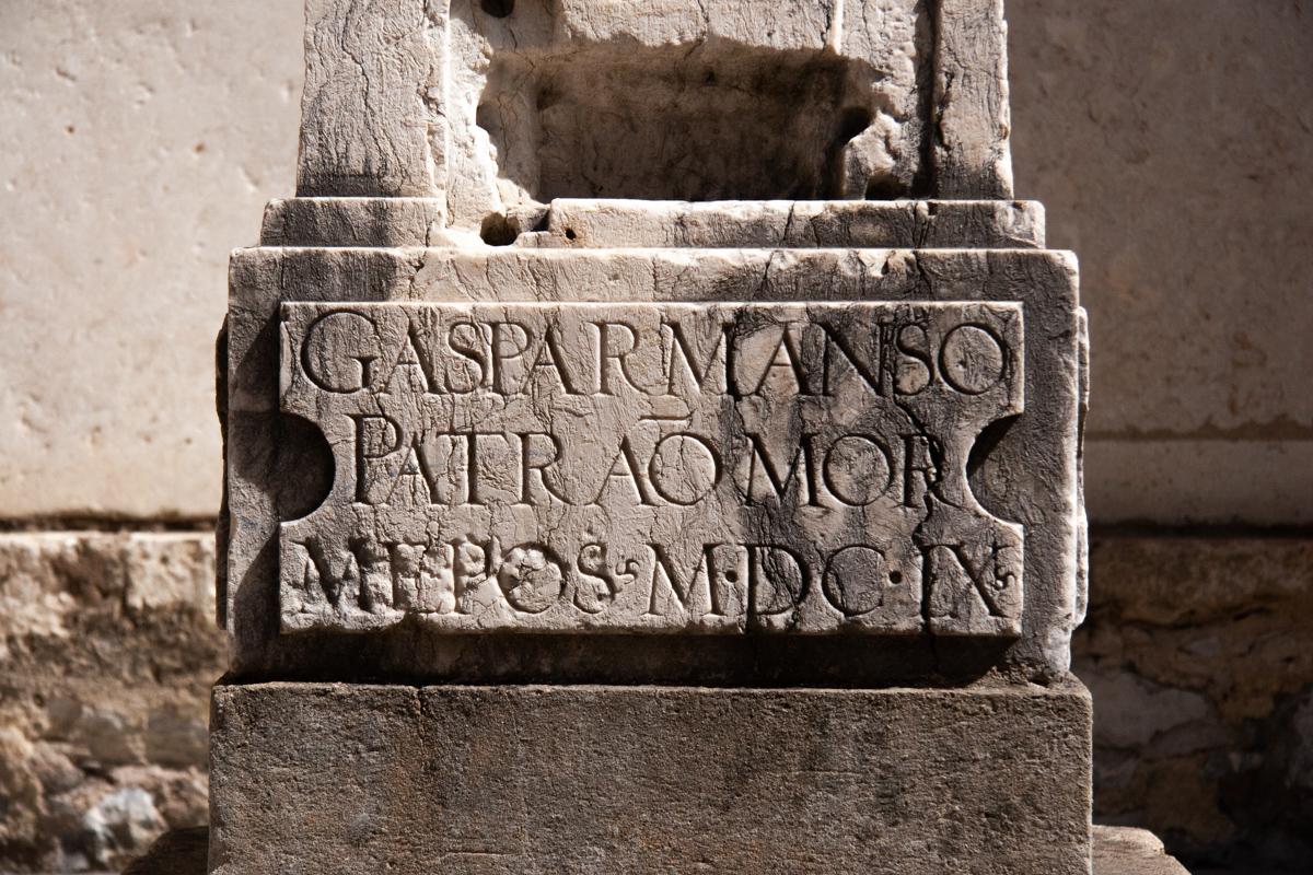 17th Century Memorial Inscription