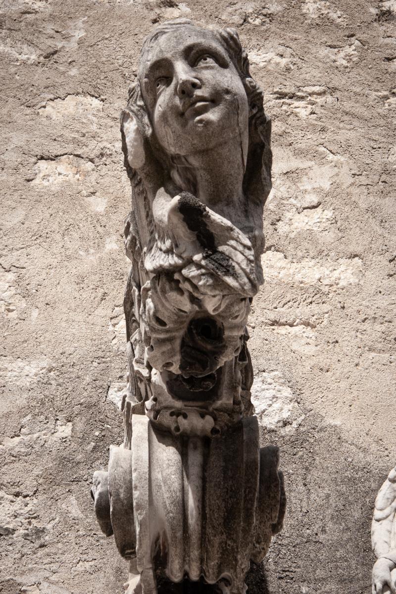16th-17th Century Stone Head