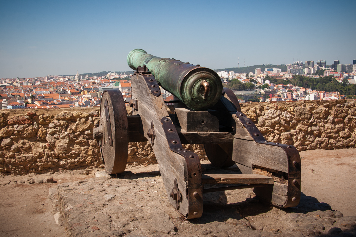 Scenic Overlook with Cannon