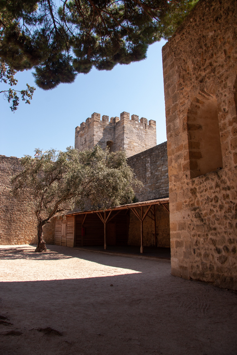 Inner Couryard of the Castle