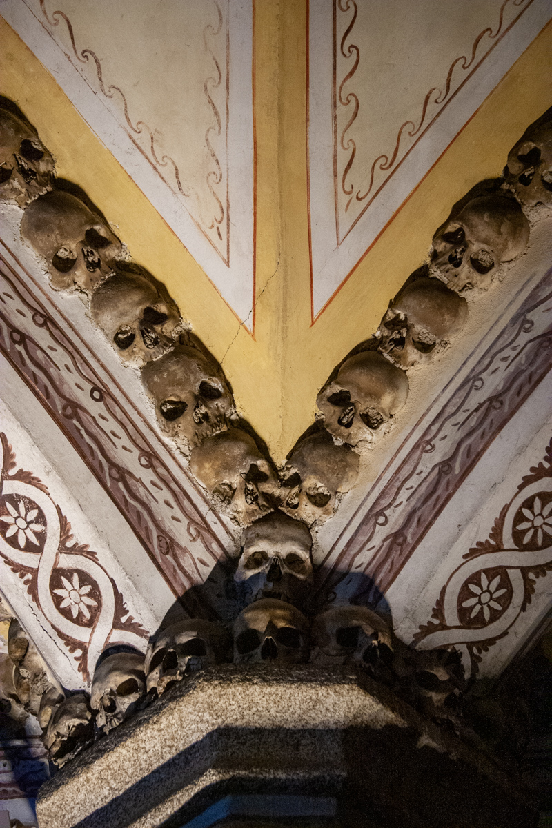 Arch Detail with Skulls