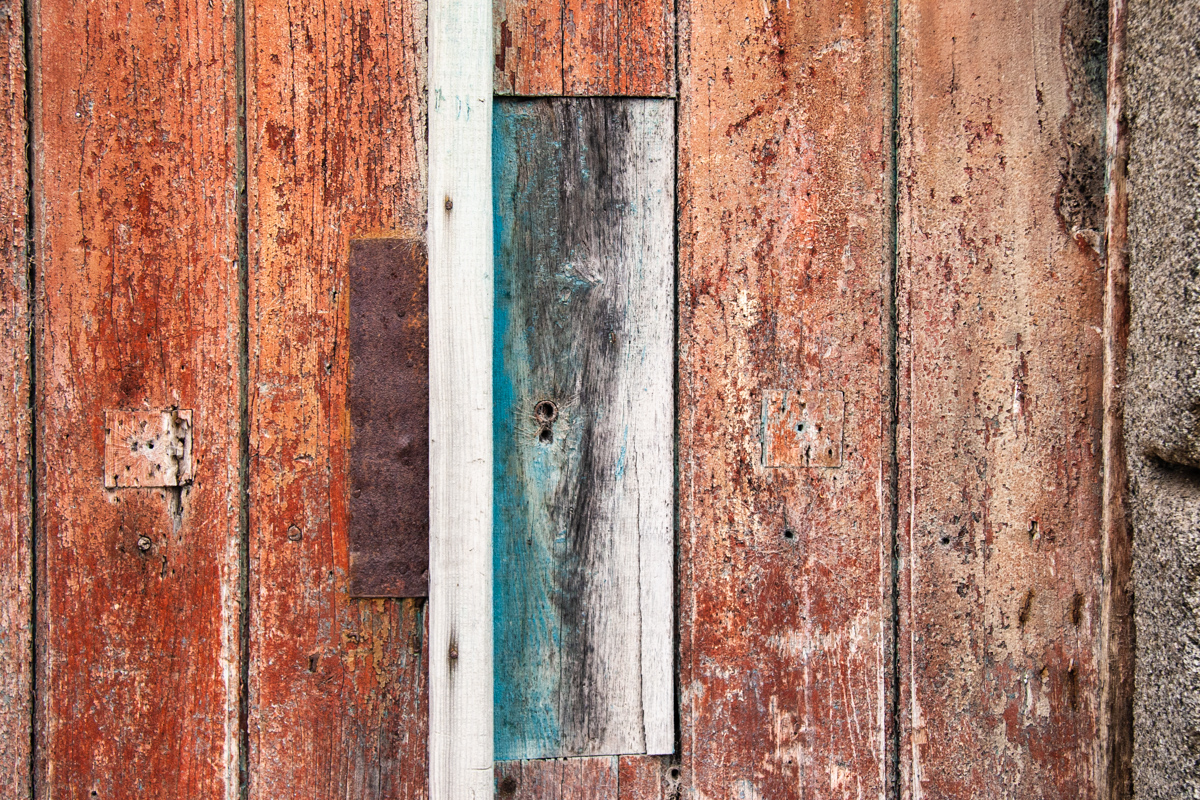 Teal and Rust