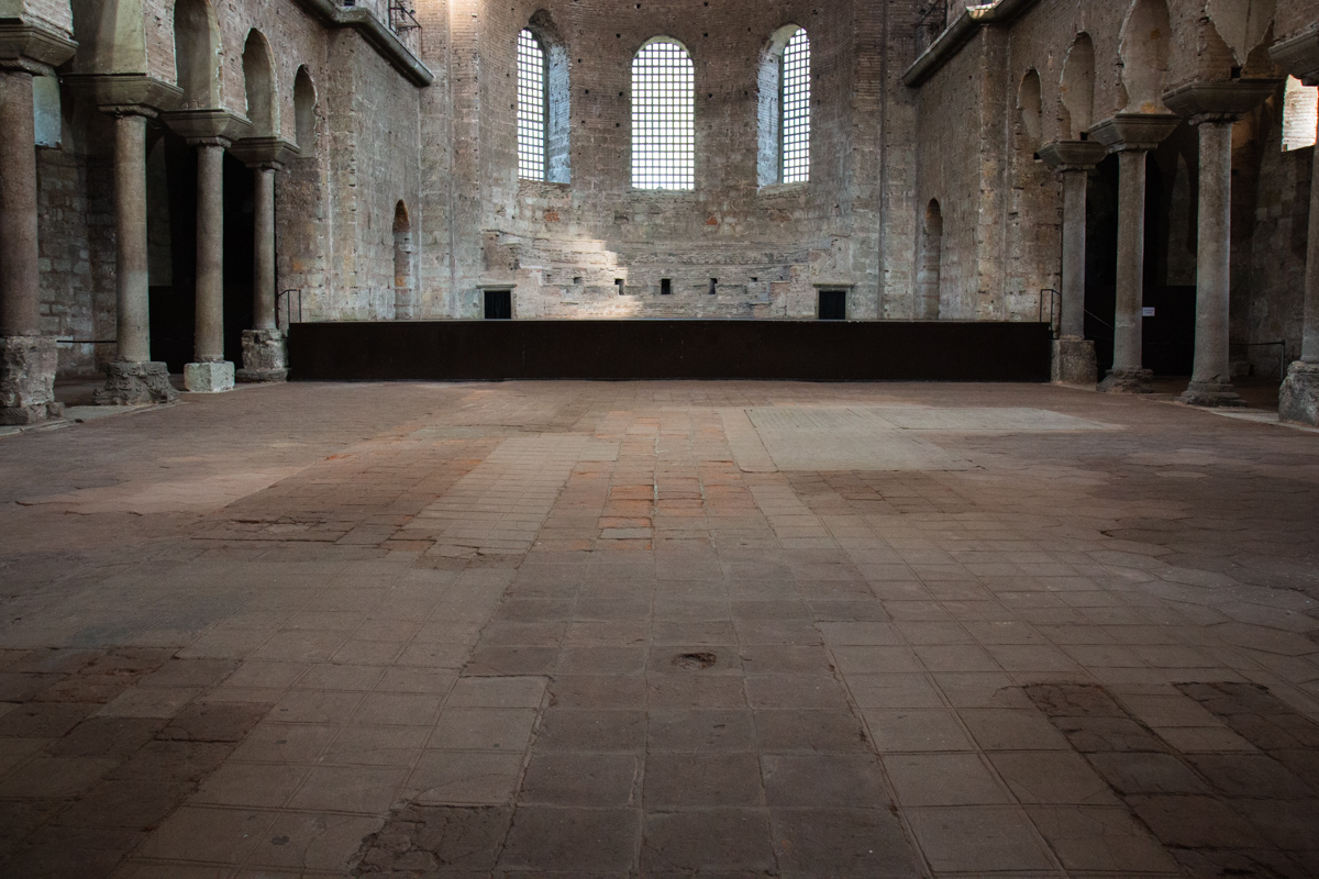 Floor of the Nave