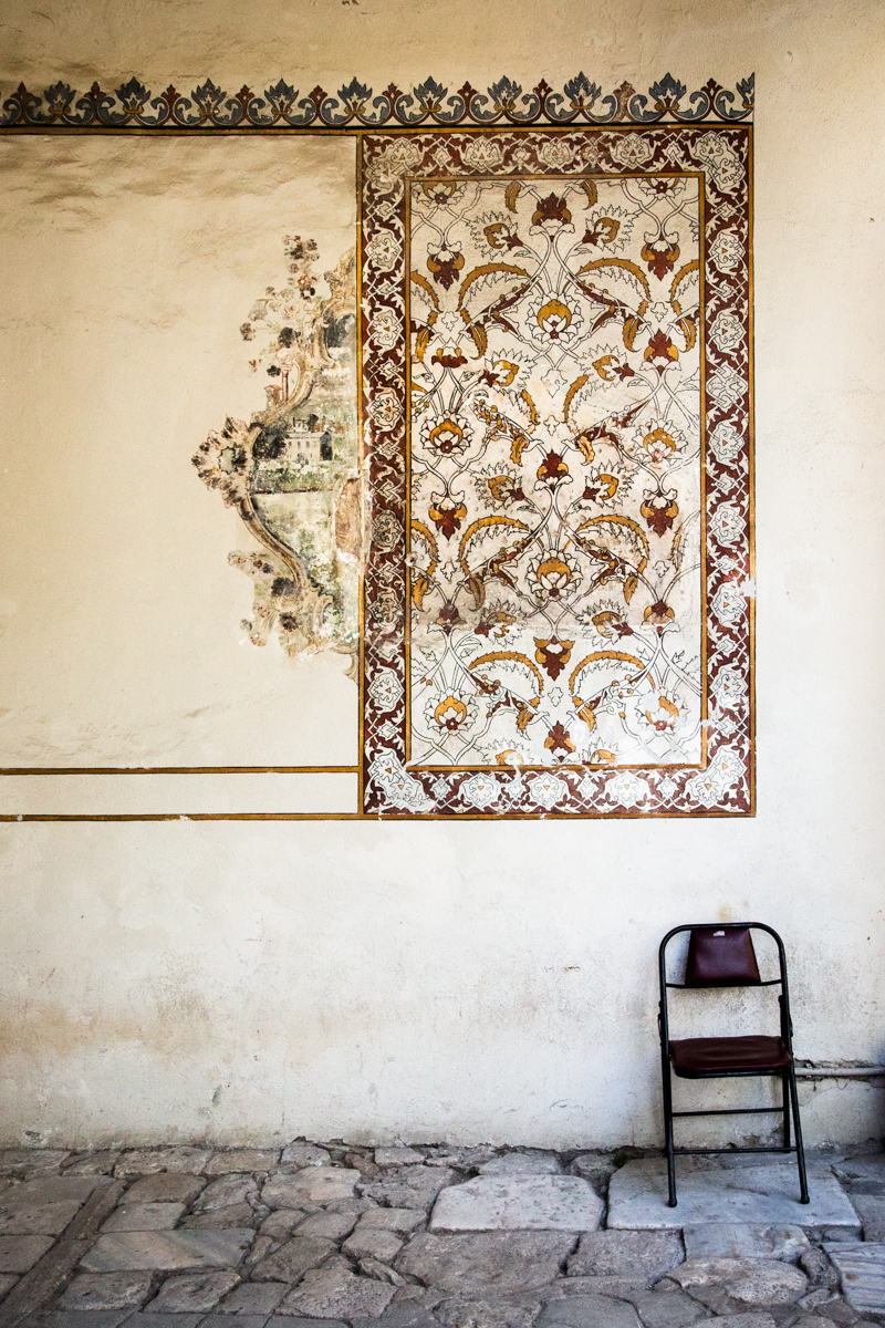 Fresco and Chair