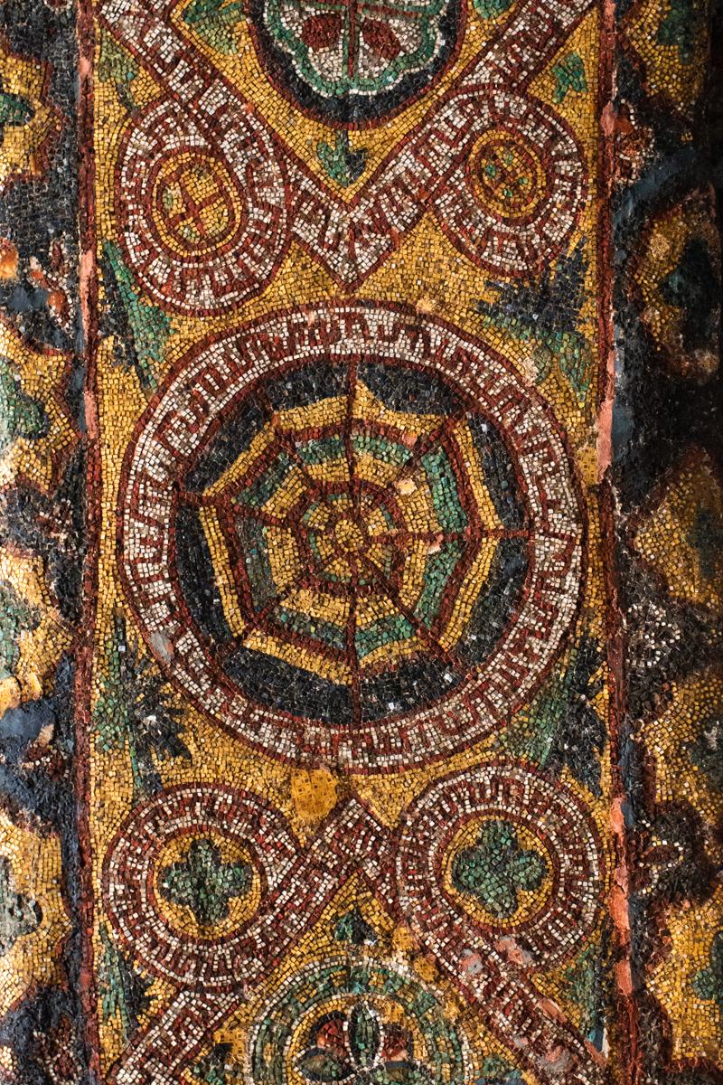 Spiderweb Mosaic Detail