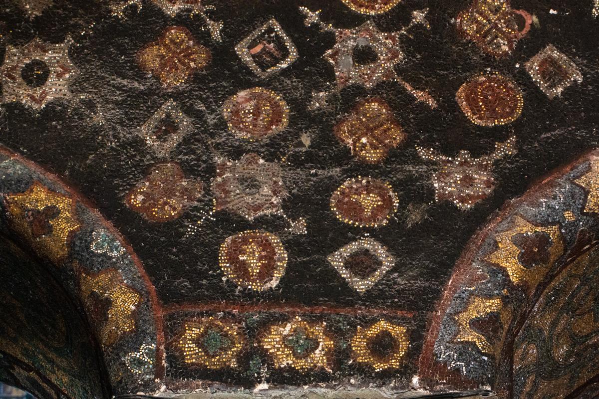 Mosaic Spandrel Decorations
