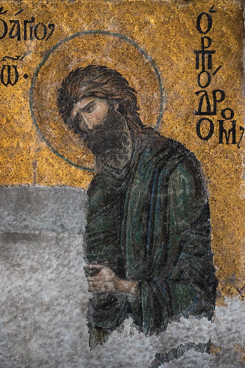John the Baptist Detail