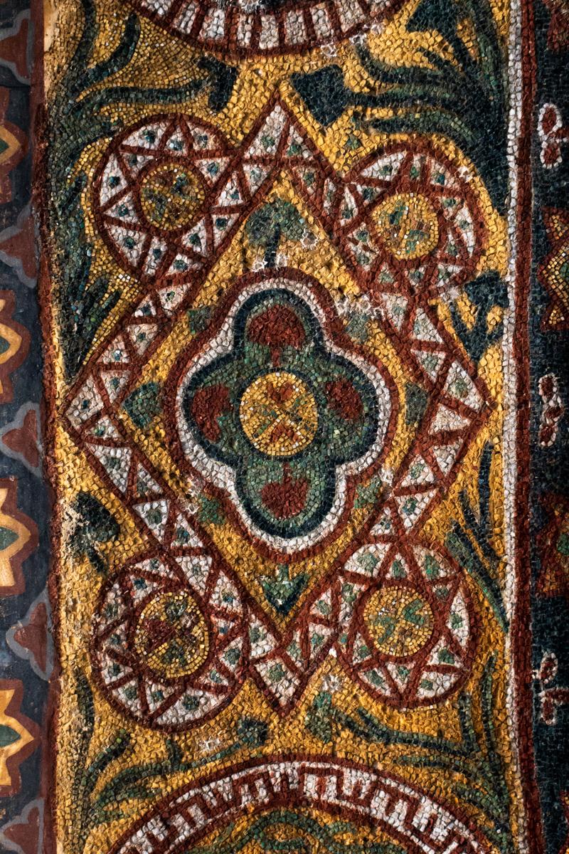 Mosaic Arch Decoration