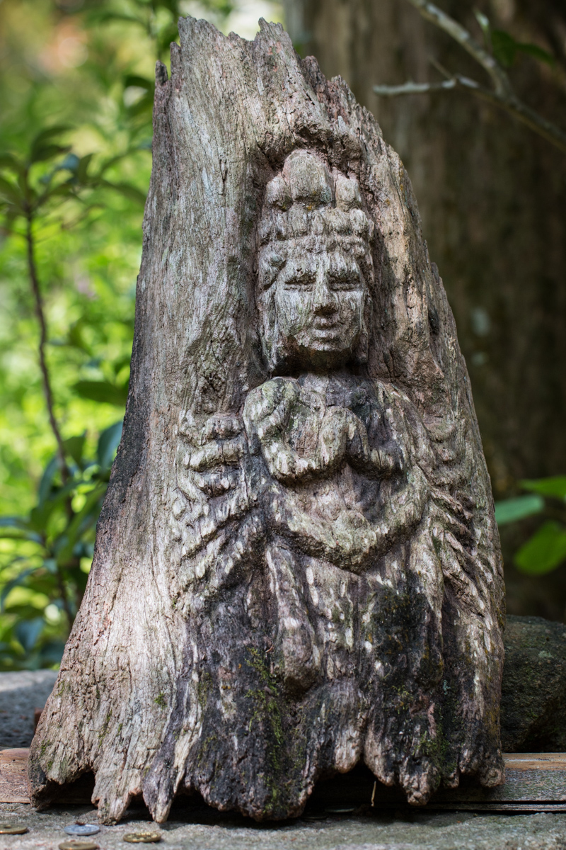 Carved Image of Kannon