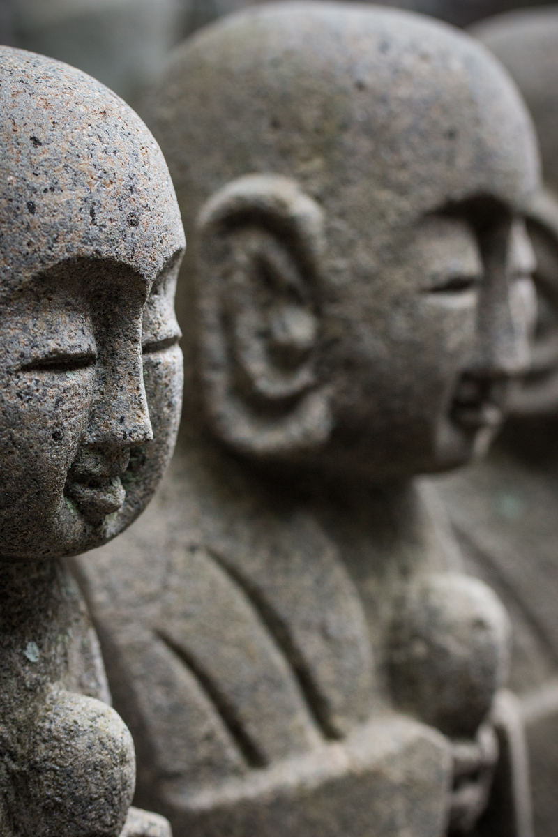 Faces of Jizo