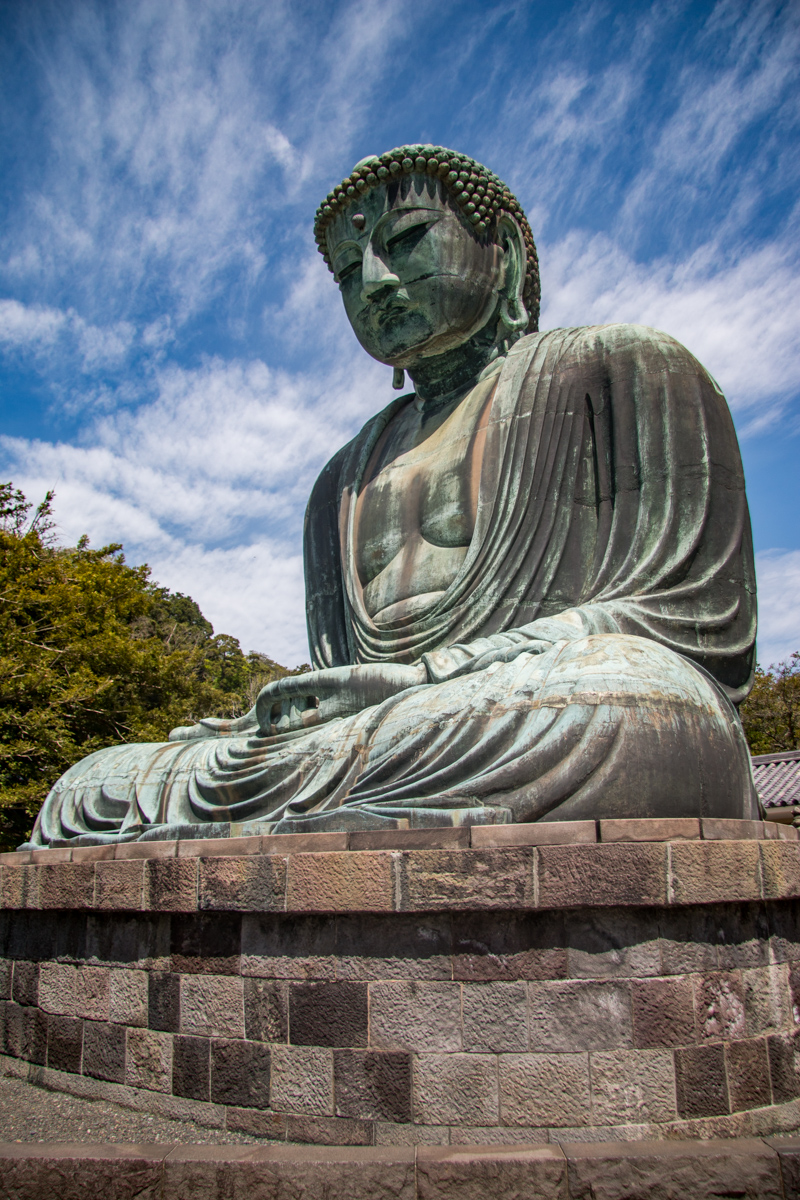 Daibutsu with Clouds