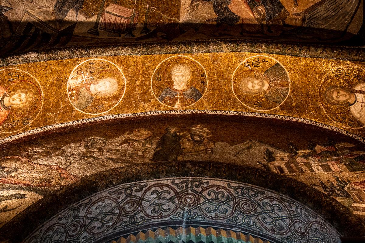 Kariye Mosque (Chora Church), Istanbul Turkey