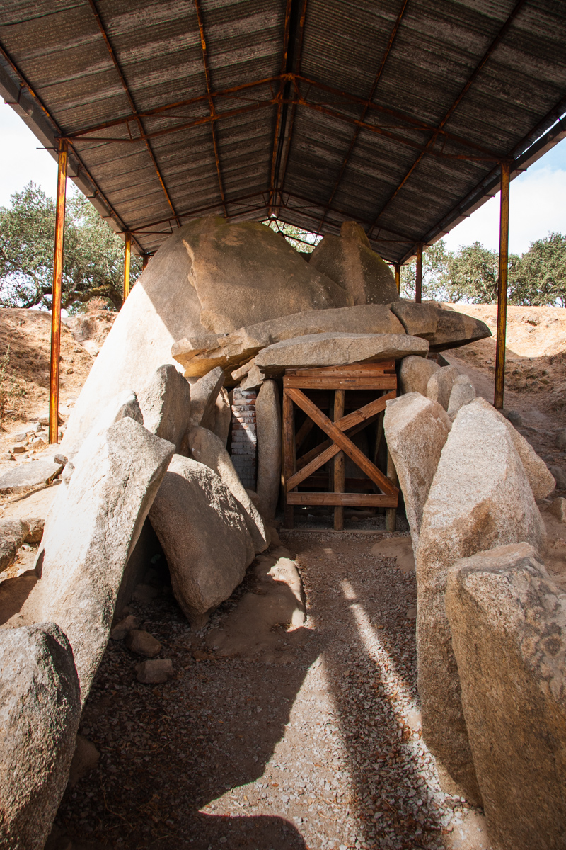 Entrance to the Dolmen