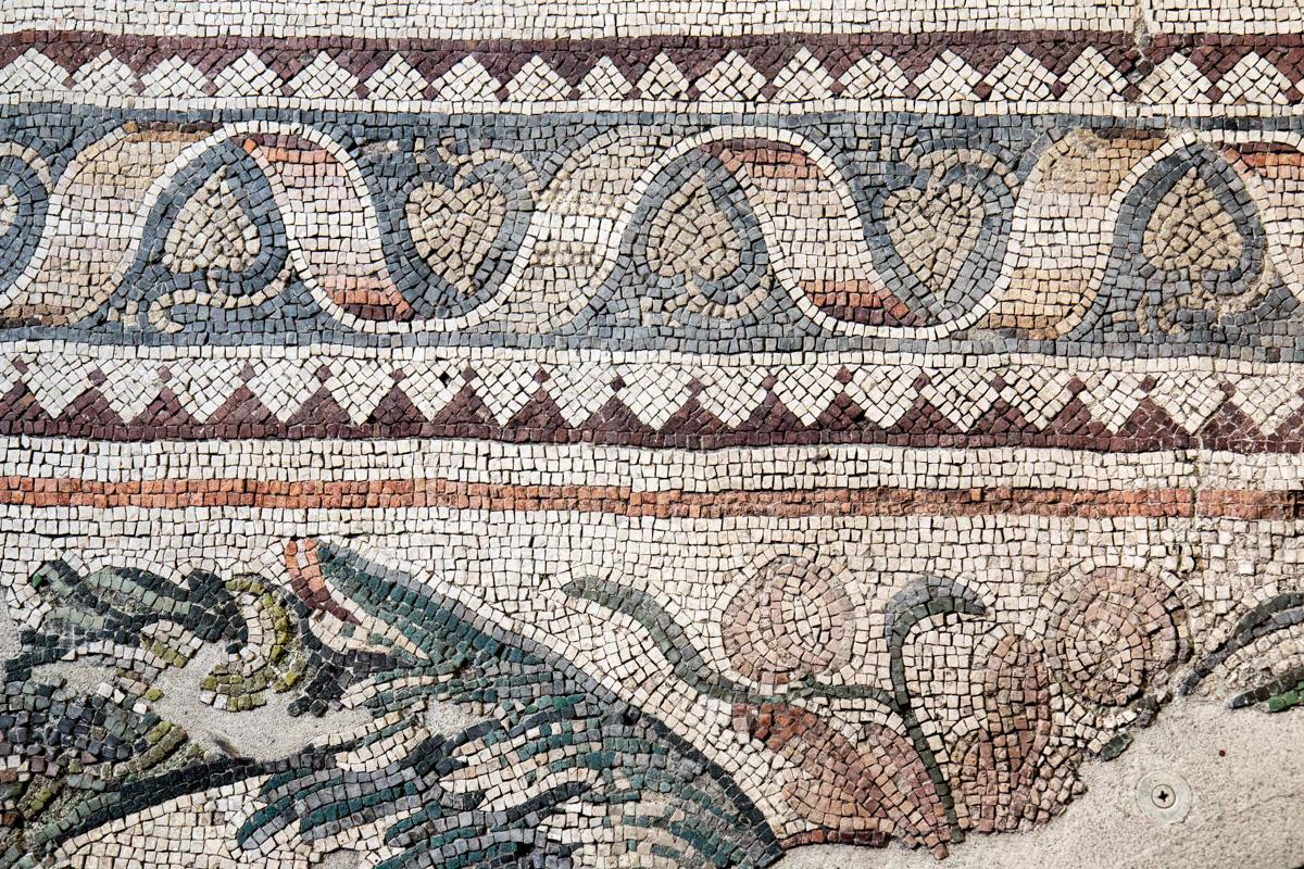 Museum of Great Palace Mosaics, Istanbul, Turkey