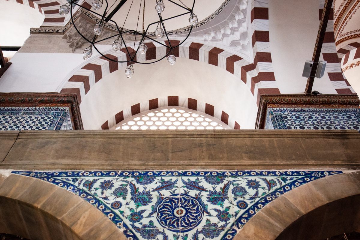 Tiled Spandrel and Arch