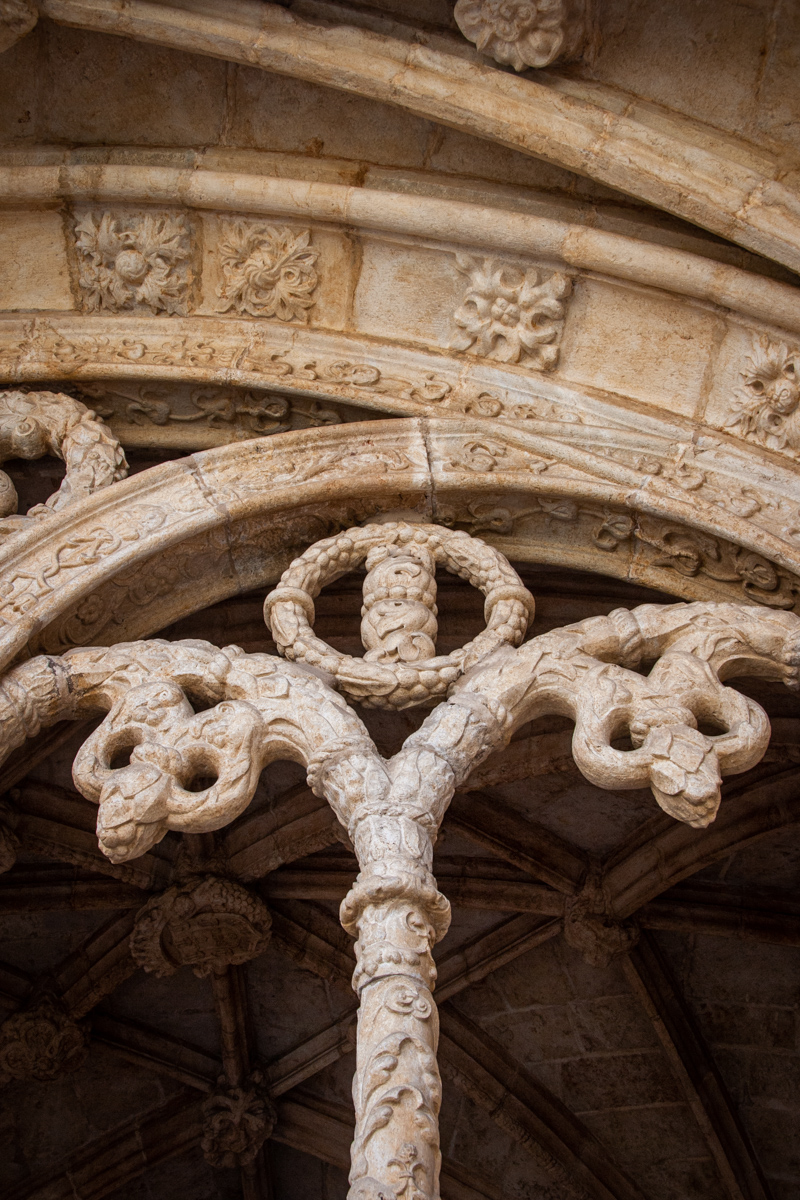 Detal of a Cloister Arch