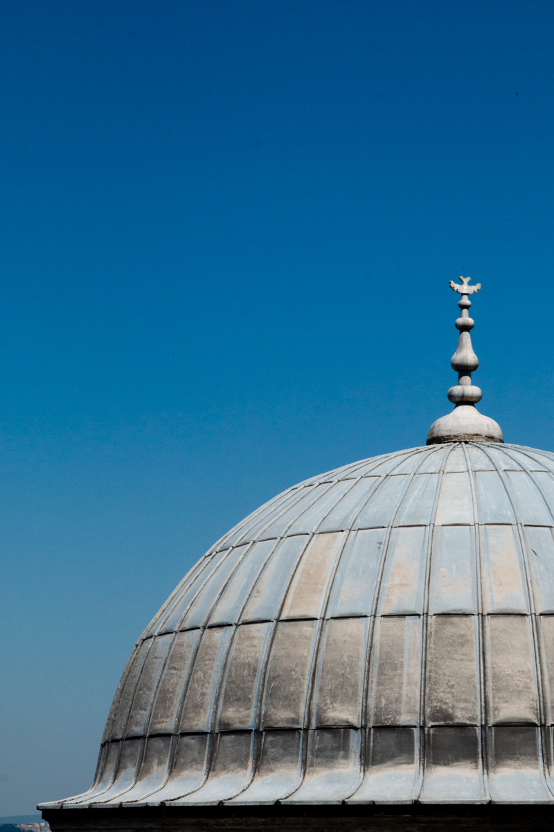 Dome of Sinan's Tomb