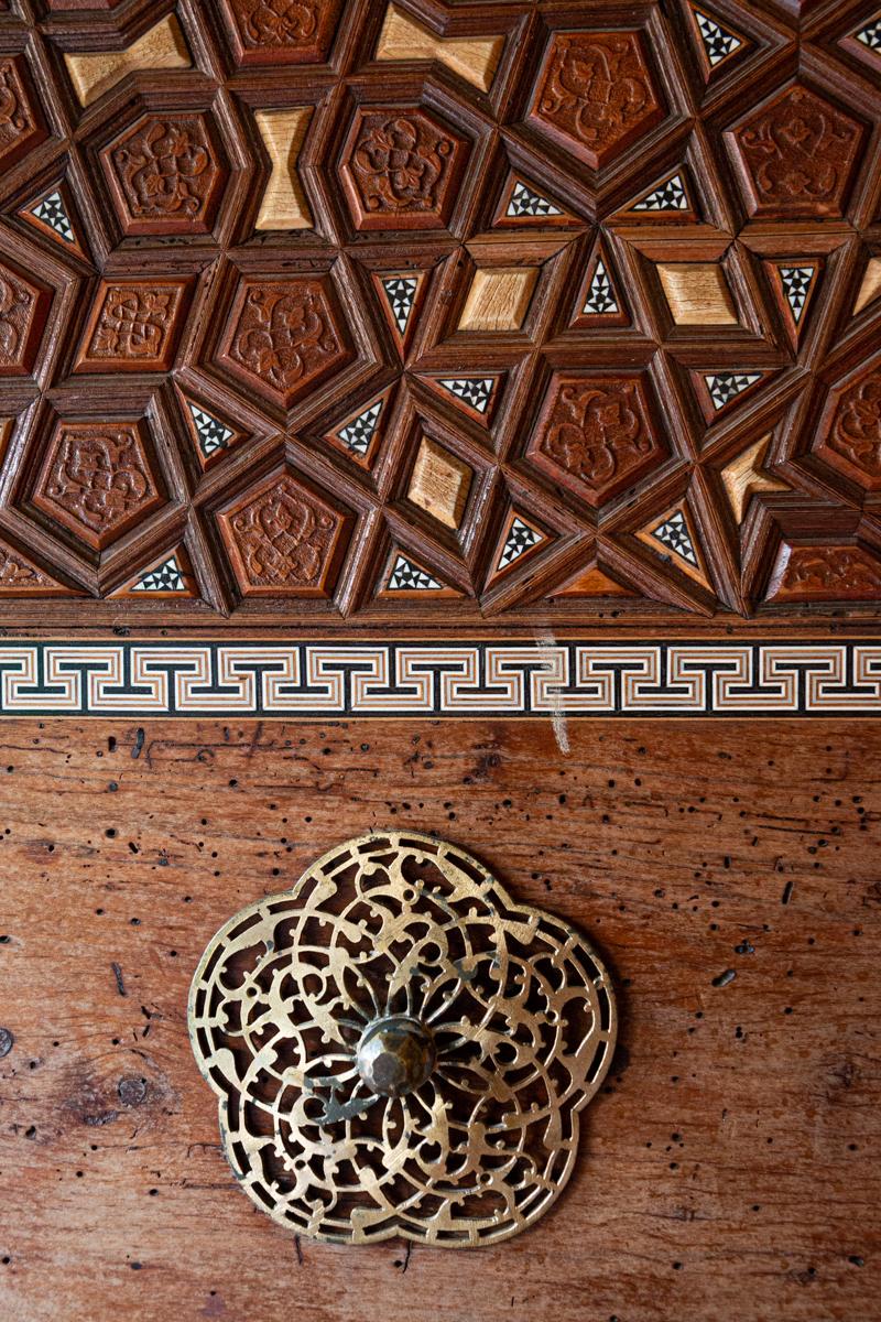 Wooden Cabinet Detail