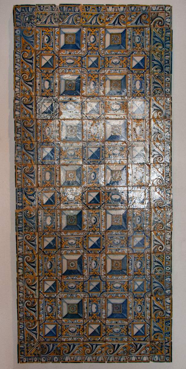 17th Century Italo-Flemish Style Panel with Borders