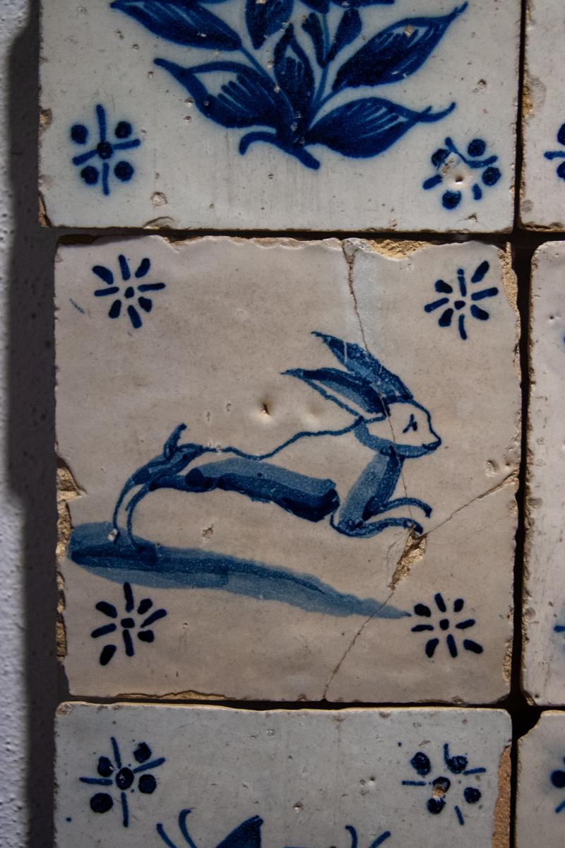18th Century Tile Individual Motif
