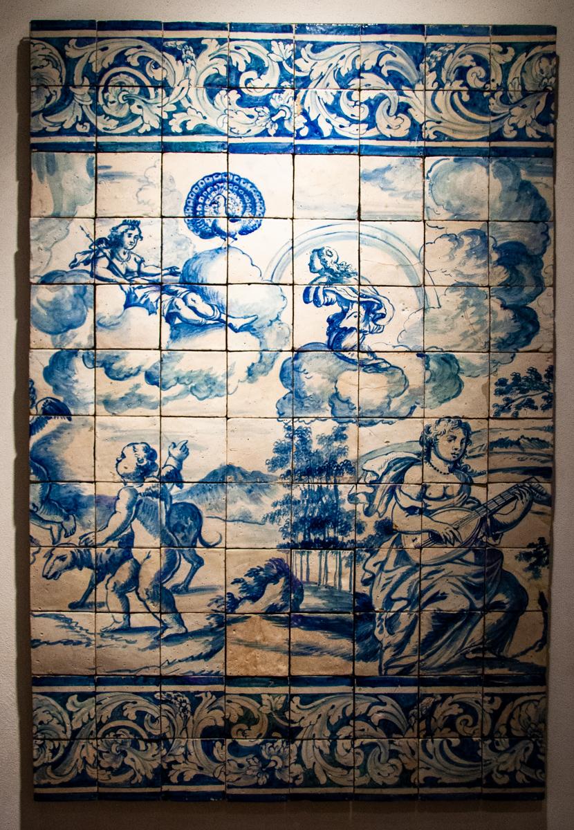 17th Century Mythological Panel