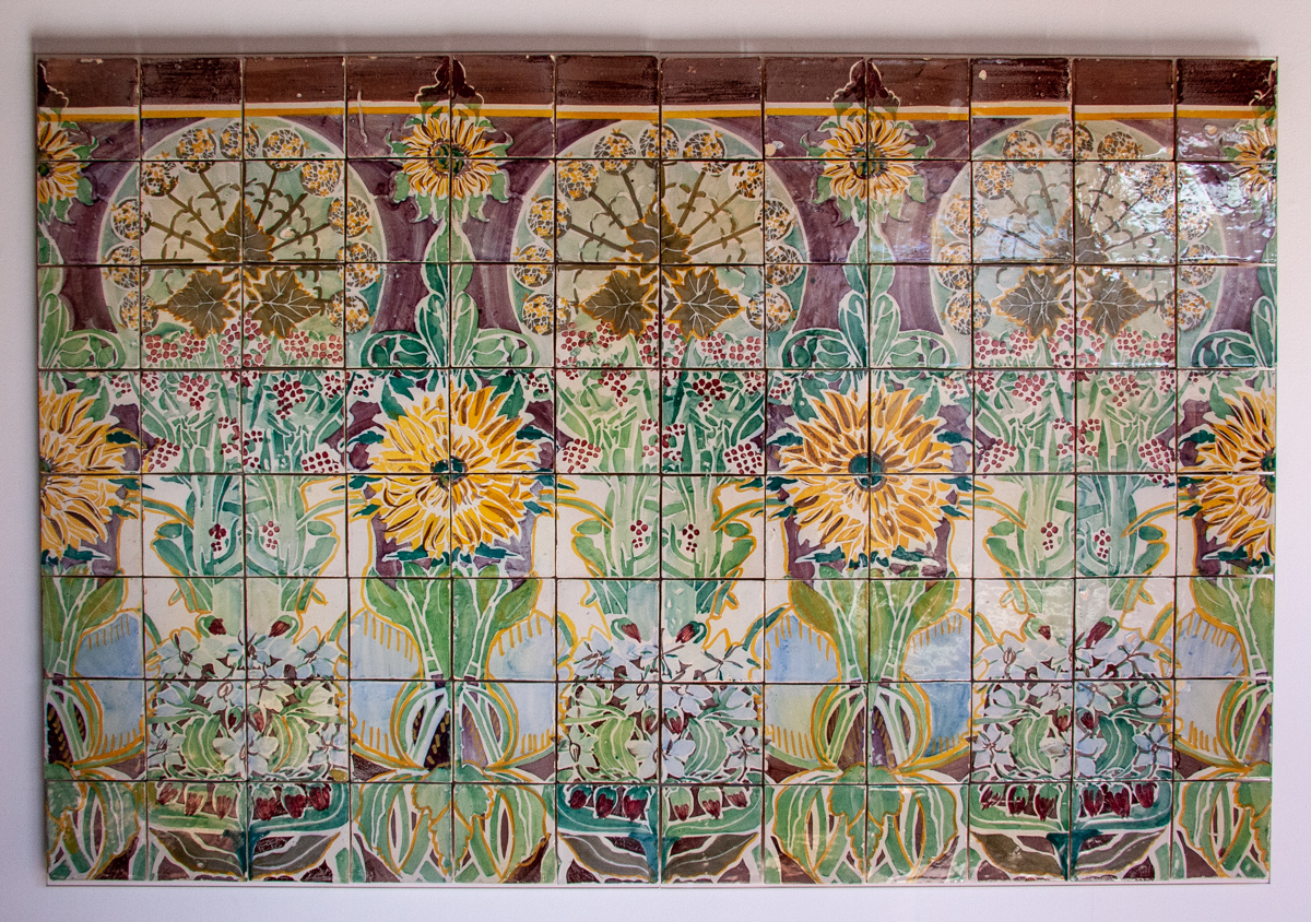 Early 20th Century Decorative Tiles