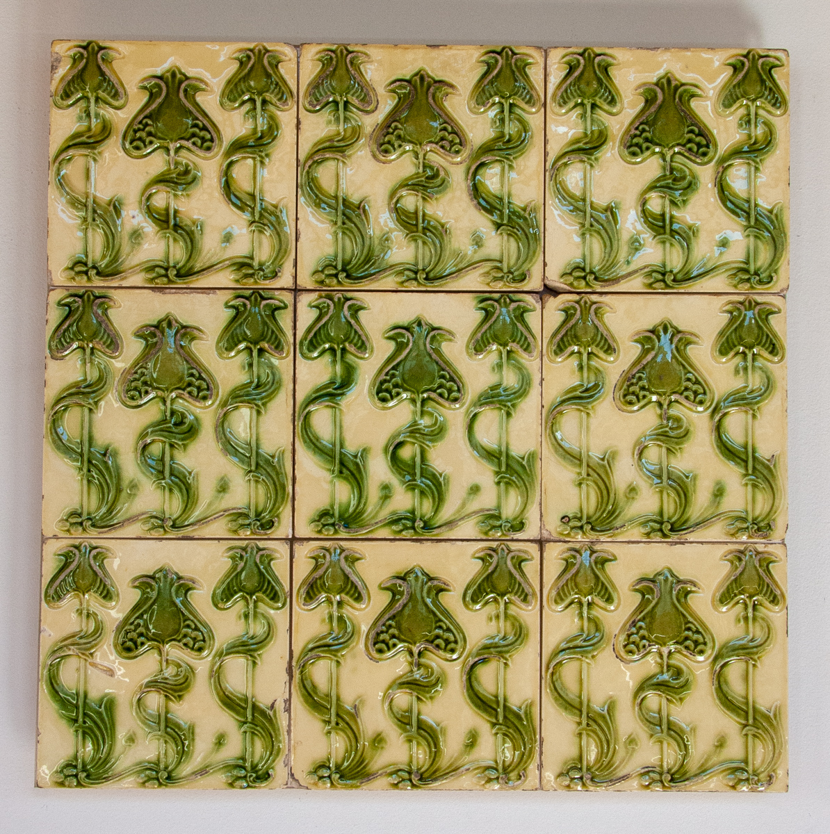 Early 20th Century Tile Panel