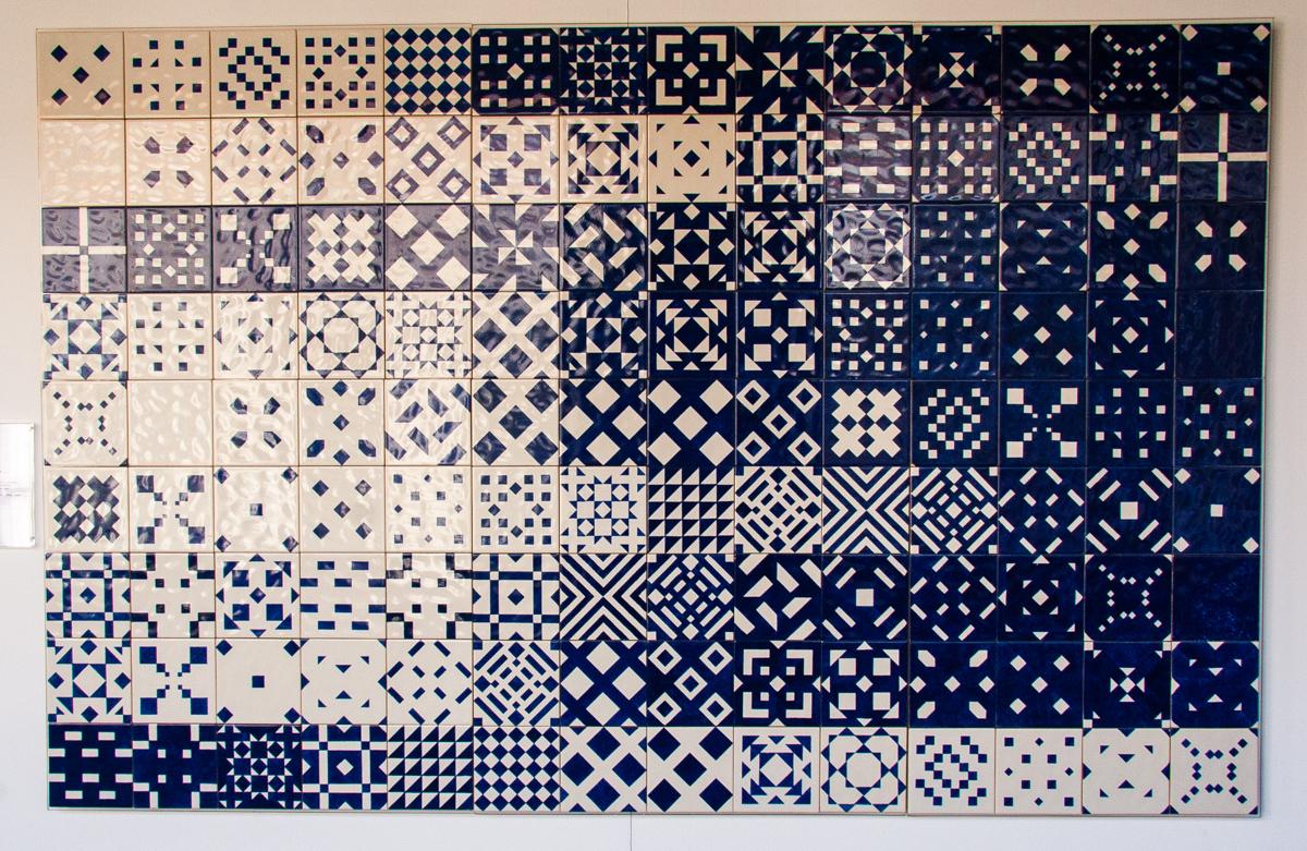 Tiles from Oceanårio de Lisboa