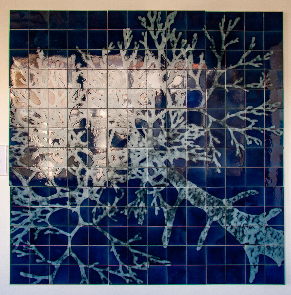 20th Century Tile Panel: The Shadow