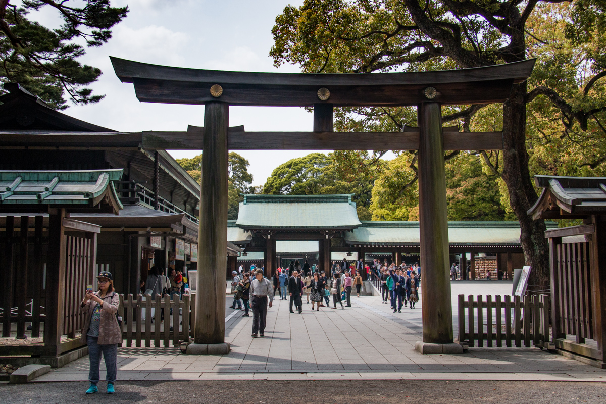 Entering the Main Shrine Complex