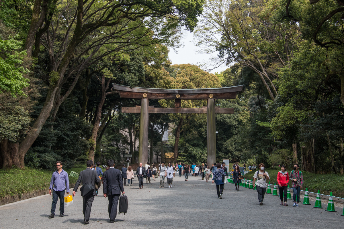 Otorii (Grand Shrine Gate)