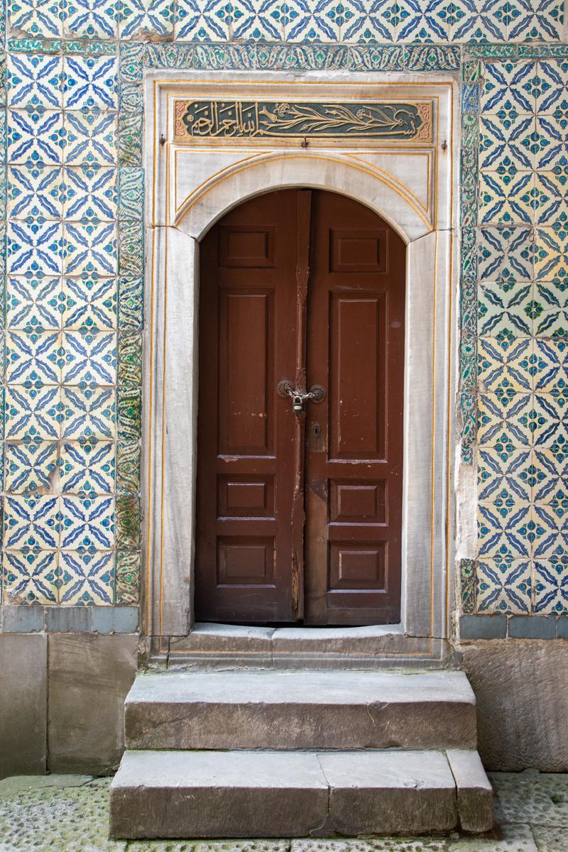 Tiled Door Surround