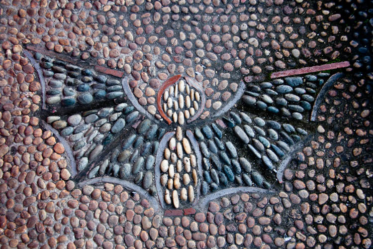 Bat Mosaic